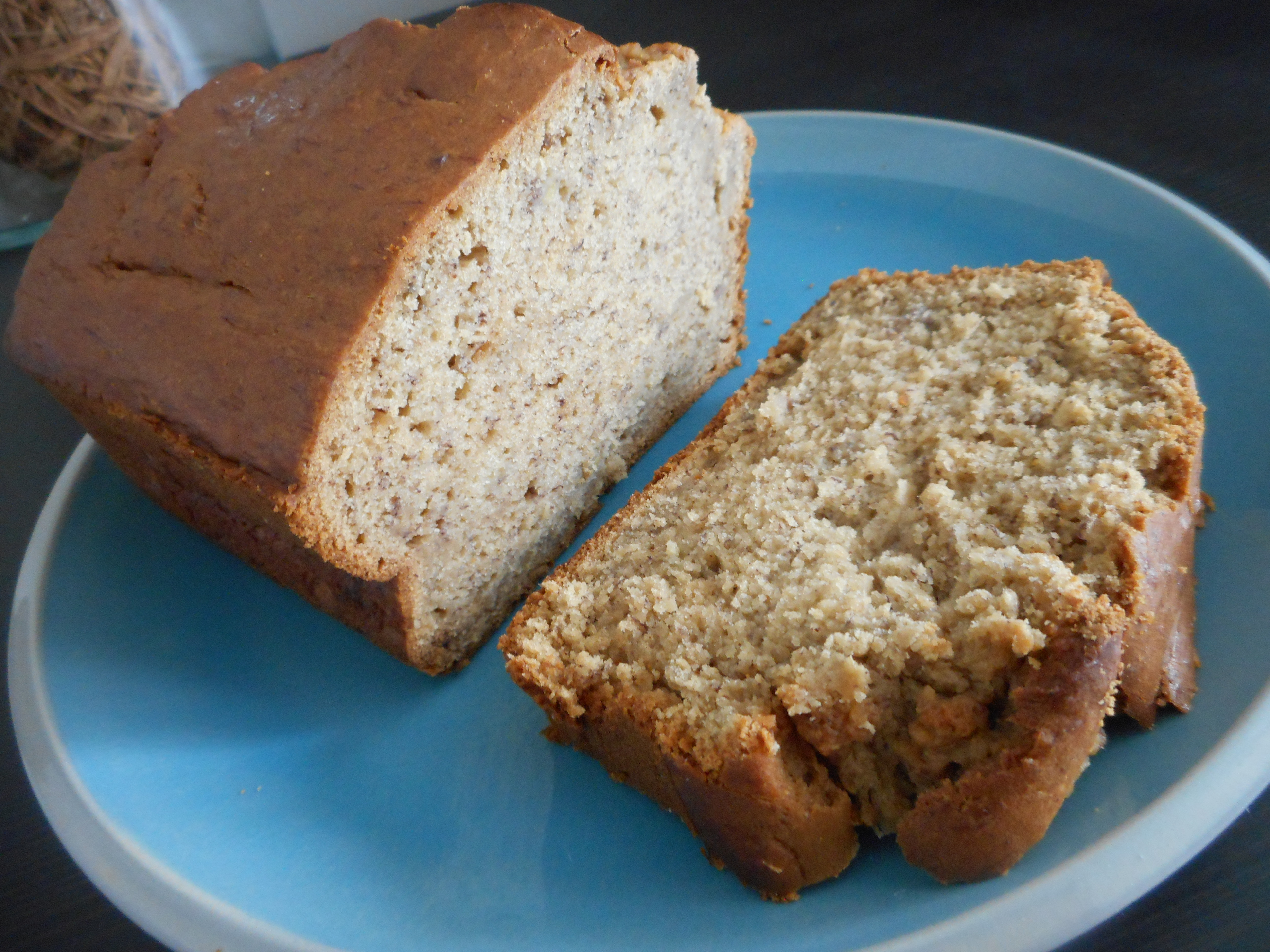 Lighter banana bread the whisking hour this bread is soft and moist on the inside with a slight crunch on the top the banana flavor comes through wonderfully my changes to the recipe were to forumfinder Choice Image